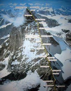 Matterhorn route, for when i climb it!