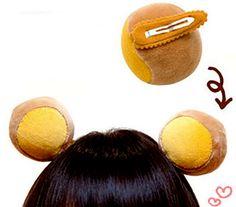 EXO Bear Ear Hair Clip - CHEMJOY