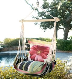 I want one of these chair swings!