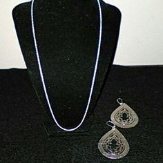 """Sterling Silver necklace Sterling Silver necklace 24"""" Jewelry Necklaces"""
