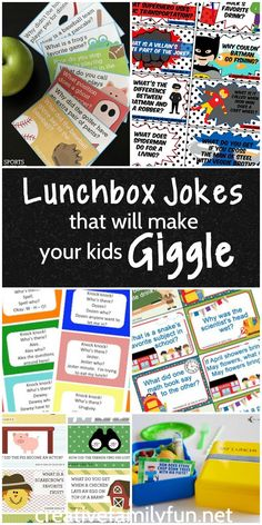 Brighten your child's day with one of these fun lunchbox jokes that will make…