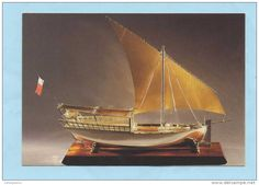Modèle de boutre du Qatar,  Musée Présidentiel de Chateau Chinon