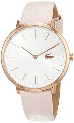 Reloj Lacoste para Mujer 2000948 #reloj #lacoste Fancy Watches, Casual Watches, Watches For Men, Ladies Watches, Women's Watches, Amazing Watches, Beautiful Watches, Dressy Flat Sandals, Wear Watch