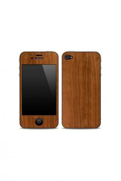 i'm getting an iphone in about 2 weeks. i think i shall get this.  Wooden iPhone case.