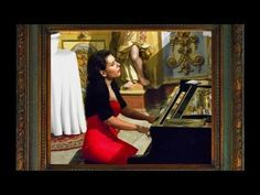 Johann Sebastian BACH Piano solo Prelude and Fugue BWV 849 WTC No 4 in c sharp minor by world-class concert pianist Stéphanie Elbaz. Well tempered clavier Pi...