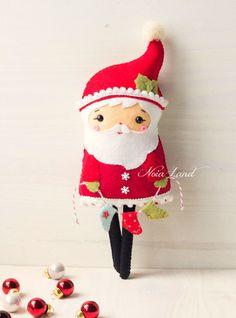 PDF Pattern. Long legs Santa by Noialand on Etsy