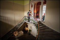 The stair hall at Wedderburn Castle