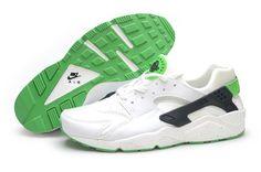 sale retailer d4b79 06522 Best Price Nike Air Huarache For Sale Shop Nike Air Huarache All White  Scream Green Poison Green