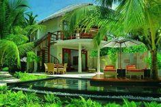 Casa tropical en Bali