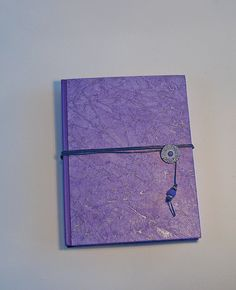 Hard Cover Purple Journal - Diary - Writers Journal - Lined pages