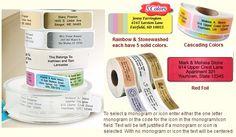 Custom Self Inking Stamps, Personalized Address Labels, Rainbow, Rain Bow, Rainbows