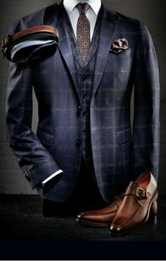 Accessorizing for the Modern Man is part of Suits - Why is it really important for men to accessorize Read on to know Sharp Dressed Man, Well Dressed Men, Mode Masculine, Mens Fashion Suits, Mens Suits, Men's Fashion, Navy Suits, Groom Suits, Men Accessories