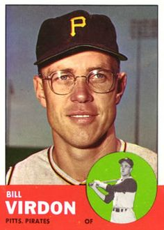 55 - Bill Virdon - Pittsburgh Pirates