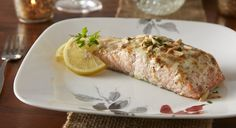 Blue Cheese Crusted Salmon #recipe