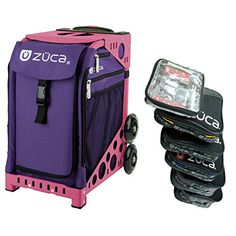 c55ff83ecc66 Zuca Rebel Sport Insert Bag (Deep Purple) with Black Non-Flashing-Wheels  Sport Frame -- Be sure to check out this awesome product. Outdoor Gadgets