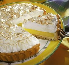 My 2nd favorite dessert! Pie de limon