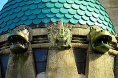 The art nouveau Elephant house at the Budapest Zoo & Botanical Garden (Fovárosi Állat- és Növénykert