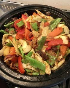 Groententajine met een kippenbout :) Eet smakelijk