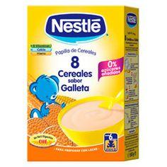 NESTLE Papilla 8 Cereales sabor Galleta 600g.