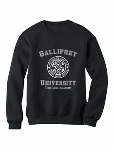 Amazon.com: gallifrey_university Sweatshirt: Clothing