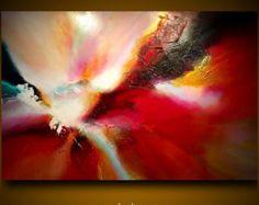 Gran pintura abstracta por Dan Bunea: Poesía en color por danbunea