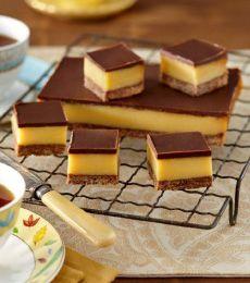 Recipe for Dark Chocolate Caramel Slice