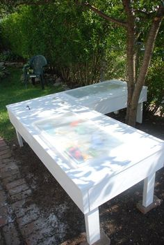 DIY – Sand and Water table, perfect for more than one kid!