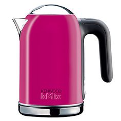 Kenwood kMix Boutique Kettle - Pink/Stainless Steel £45