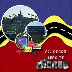 all roads lead to disney