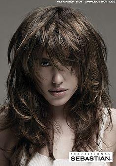 Die 7 Besten Bilder Von Stufenschnitt Layered Hairstyles With
