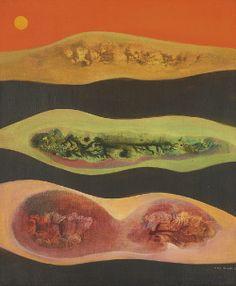 Max Ernst - Descente Dans la Vallee (1949)                                                                                                                                                      More