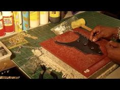 Sewing with leather.   Many videos