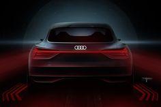 AUDI e-tron Sportback Concept lighting sketch taillamp
