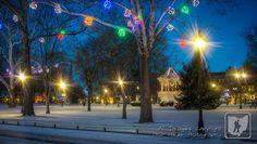 Christmas lights in Gallipolis, Ohio