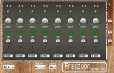 Fratzoor, an analogue-style Step-Sequencer by Tok-Tok