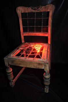hot seat, ( neon)