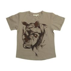 Funghi rhino Norman t-shirt by Soft Gallery