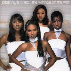 Destiny's Child; I have a whole playlist on my iPod just for them. #obsession