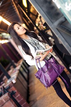 Shades of Purple :: Plum jeans