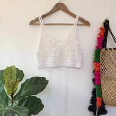 Image of MOROCCO LACE-UP CROP SINGLET