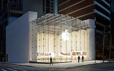The Apple Store on West 67th Street and Broadway is the go-to place for Mac computer techies and  iPhone fanatics. This space also offers free wi-fi.