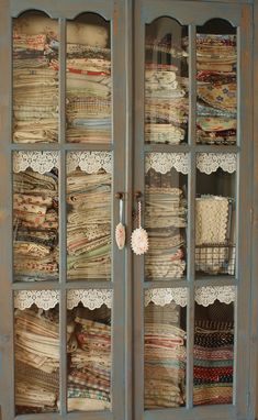...have an armoire in which to house your vintage flour sacks.