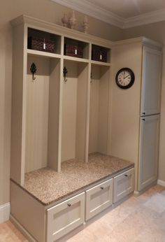 Decor You Adore: March 2013 Fabulous mud room/laundry room by cindy