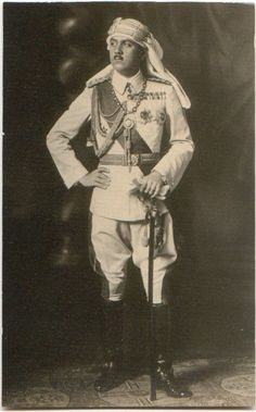 Osman Fuad Effendi was commander in chief of the Africa Groups. Despite his efforts in the field, Osman Fuad Efendi and his men were unable to withstand the well-equipped Italian force of 60,000 who opposed them.Following the Armistice of Mondros, signed between the Ottoman Empire and the Allies in 1918, Osman Fuad Efendi refused to lay down his arms, as he had been ordered to do. He continued to put up a resistance for a few more months from his headquarters in the city of Misrata.