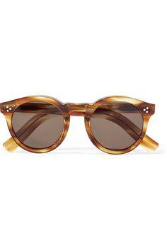 ILLESTEVA Leonard II round-frame acetate sunglasses. Available here: http://rstyle.me/n/bubbzsbcukx