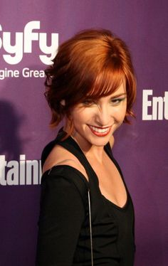 Allison Scagliotti. For the ISFJ. A Deep Autumn with red hair.