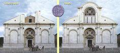 Andrea Docci · Tempio Malatestiano - Completamento Temporaneo · Divisare