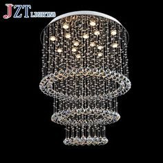 357.60$  Buy now - http://alih0k.shopchina.info/1/go.php?t=32648472528 - J Best Price Modern K9 crystal pendant light dining room bedroom lamp LED stair art lamps crystal living room droplight light  #buychinaproducts