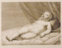 Sleeping Child. Francesco Bartolozzi.