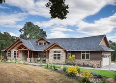 Beautiful Northwest Ranch Home Plan - 69582AM | 1st Floor Master Suite, Butler Walk-in Pantry, CAD Available, Corner Lot, Craftsman, Den-Office-Library-Study, Mountain, Northwest, PDF, Photo Gallery, Ranch, Split Bedrooms | Architectural Designs